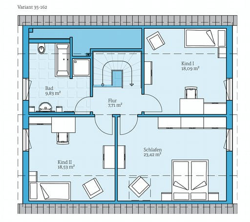 Hanse - Variant 35-162 Floorplan 2