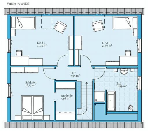 Hanse - Variant 35-173 Floorplan 2