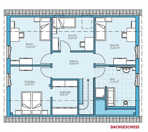 Hanse - Variant 35-184 Floorplan 2