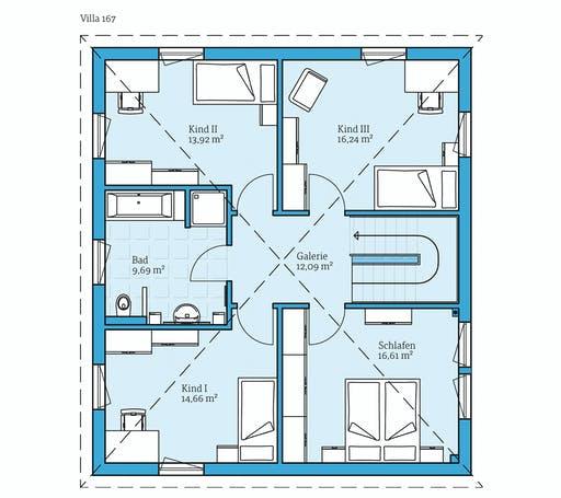Hanse - Villa 167 Floorplan 2