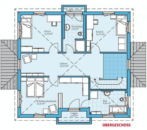 Hanse - Villa 207 Floorplan 2