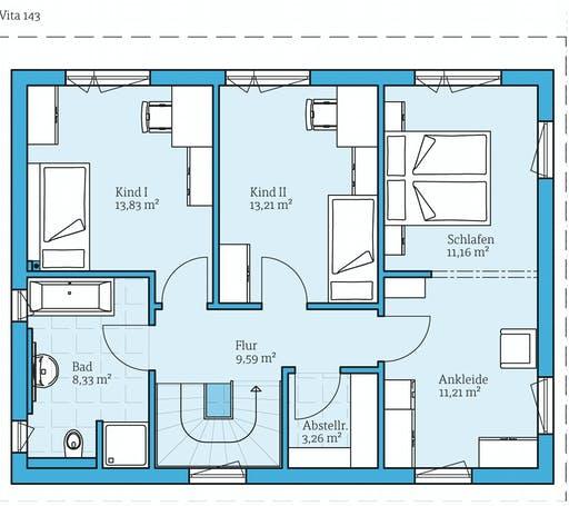 Hanse Vita 143 Floorplan 2