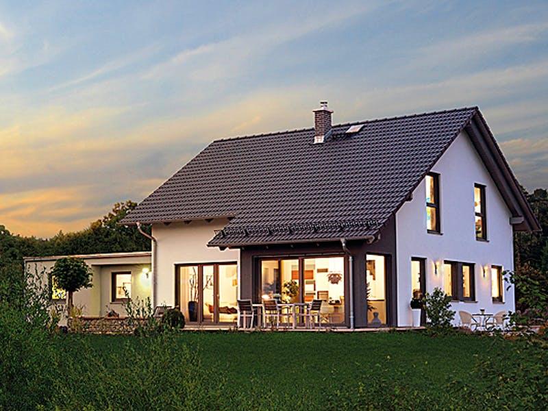 Fertighaus mit Terrasse von Hanse Haus