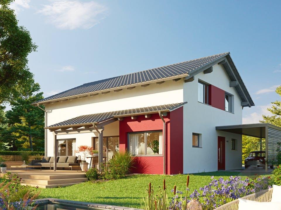 Variant 25-165 von Hanse Haus Außenansicht