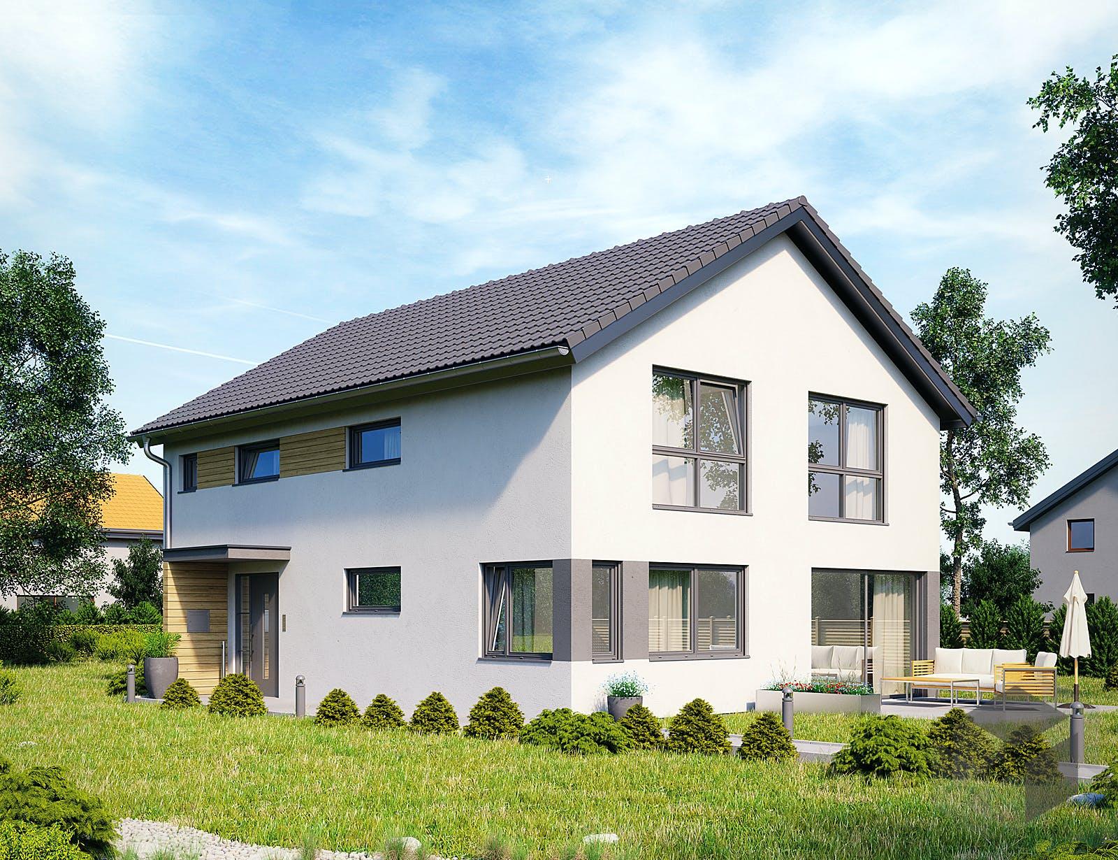 Hanse Haus Variant : einfamilienhaus variant 25 198 von hanse haus ~ Yuntae.com Dekorationen Ideen