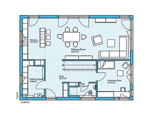 Hanse Variant 25-198 Floorplan 1