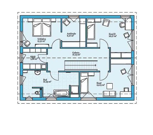 Hanse Variant 25-198 Floorplan 2