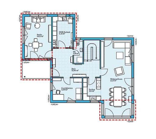 Hanse Variant 35-161 Floorplan 1
