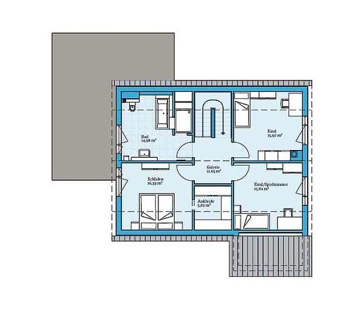 Hanse Variant 35-161 Floorplan 2