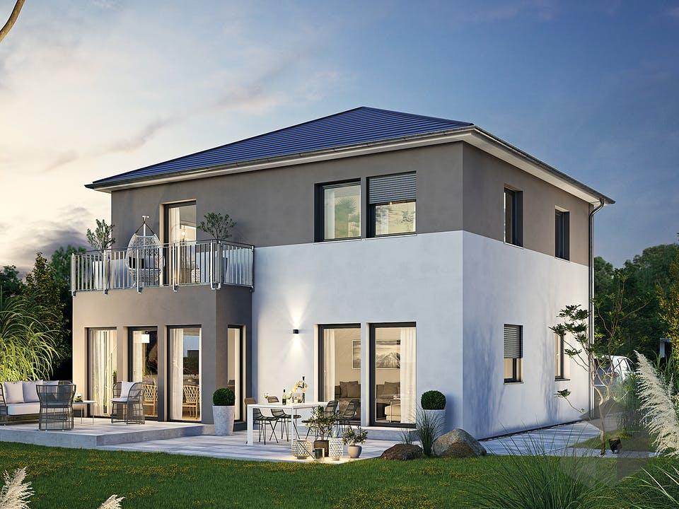 Villa 134 von Hanse Haus Außenansicht