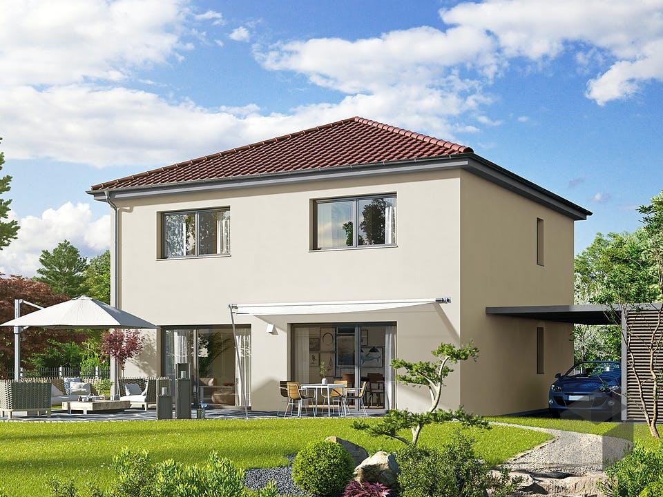 Villa 156 von Hanse Haus Außenansicht