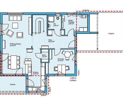Hanse - Villa 177 Floorplan 1