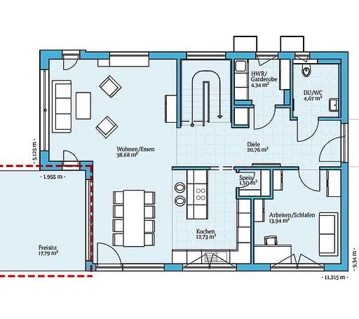 Hanse - Villa 178 Floorplan 1