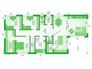 Avantgarde 143 F von HARTL Haus Grundriss 1