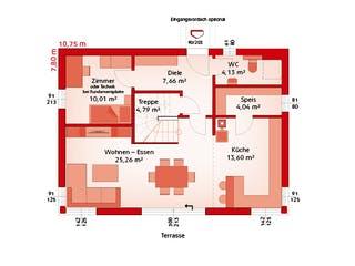 Classic 139 S von HARTL Haus Grundriss 1
