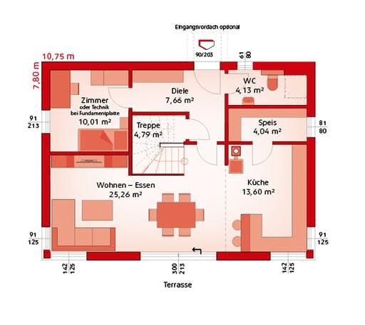 Hartl - Classic 139S Floorplan 1