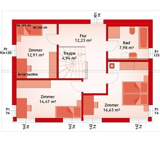 Hartl - Classic 139S Floorplan 2