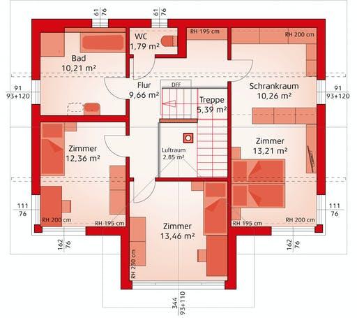 Hartl Haus - Classic 157 S Floorplan 2