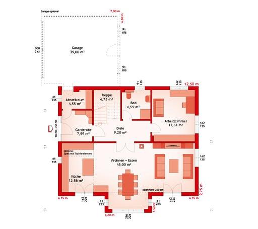 Hartl - Classic 218 W Floorplan 1