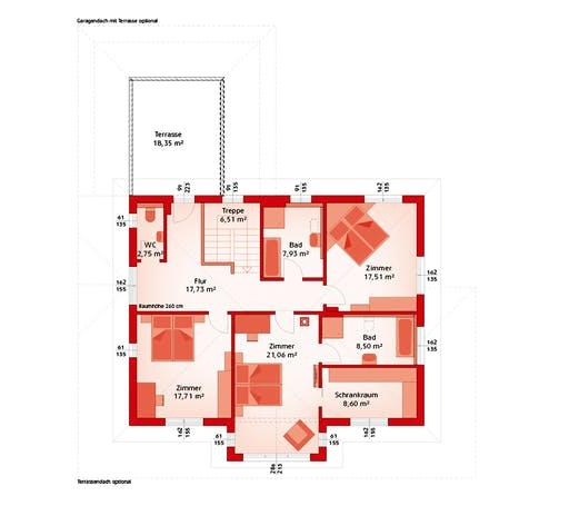 Hartl - Classic 218 W Floorplan 2
