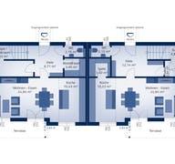 Doppelhaus 120 S (inactive) Grundriss