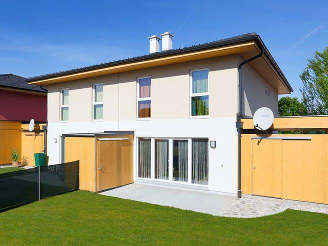 Doppelhaus 120 W von HARTL Haus Außenansicht 1