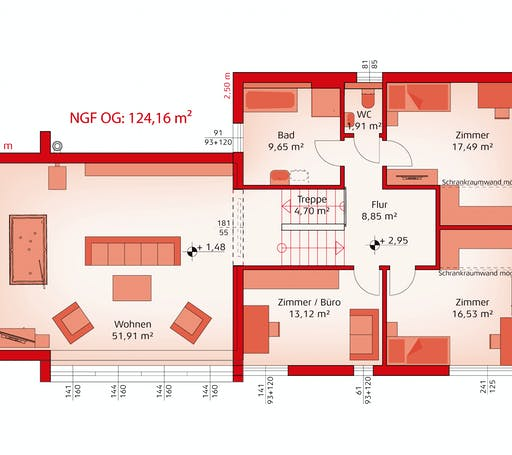 Hartl Haus - Liberty 199 F Floorplan 2