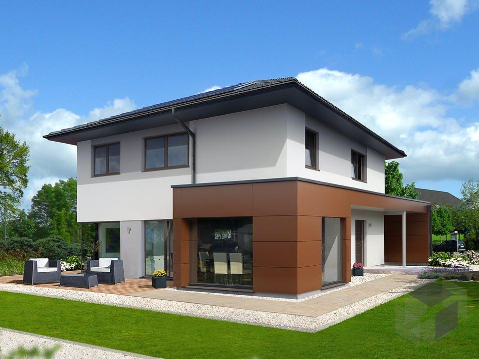 Style 163 W von HARTL Haus Außenansicht
