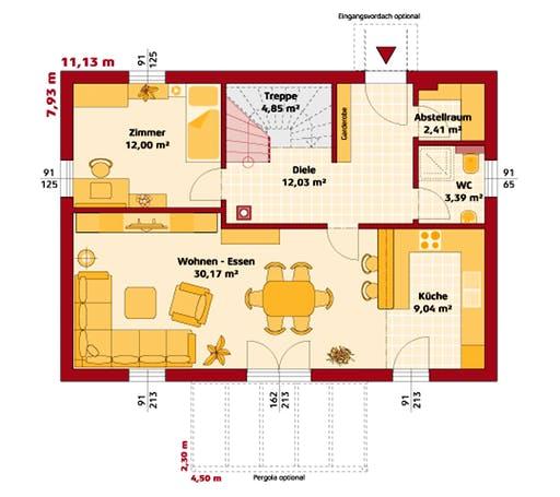 Hartl - Trend 146 P Floorplan 1