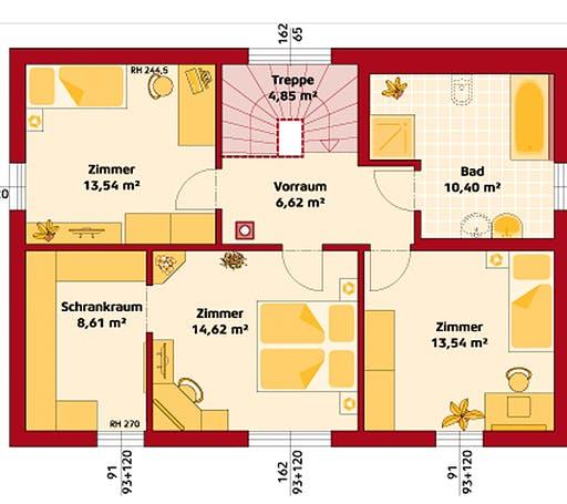 Hartl - Trend 146 P Floorplan 2