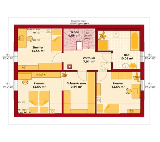 Hartl - Trend 146 S Floorplan 2
