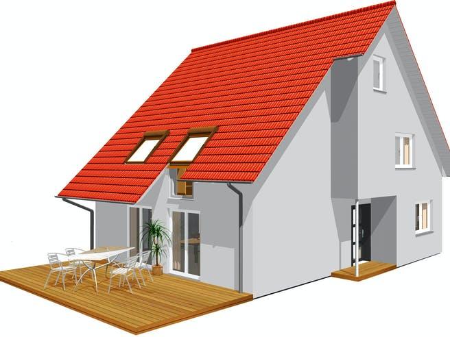 Haus 105 von TALBAU-Haus Außenansicht 1