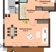 Haus 105 (inactive) Grundriss