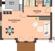 Haus 117 Grundriss