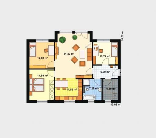 haus f r drei von ebh haus komplette daten bersicht. Black Bedroom Furniture Sets. Home Design Ideas