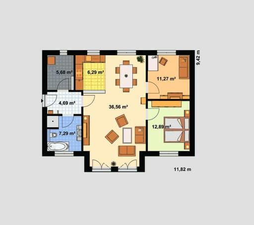 haus f r zwei von ebh haus. Black Bedroom Furniture Sets. Home Design Ideas