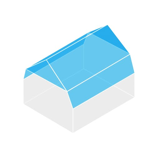 mit einem passenden dach ein haus schm cken und aufwerten. Black Bedroom Furniture Sets. Home Design Ideas
