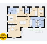 Bungalow 123 SF Grundriss