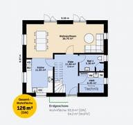 Einfamilienhaus 126 A SF Grundriss