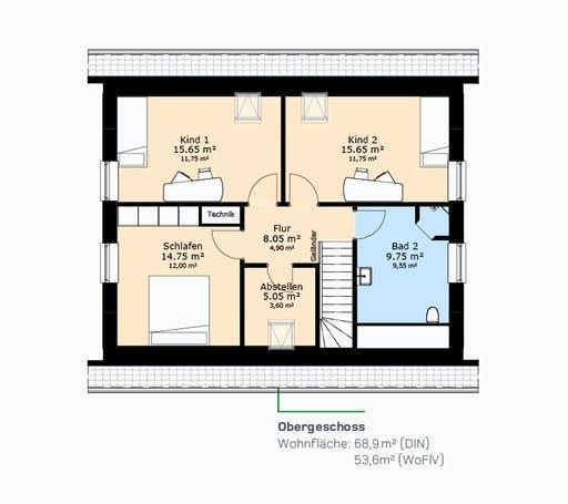 Hauscompagnie EFH 143 Floorplan 2