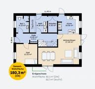 Einfamilienhaus 160 SF Grundriss