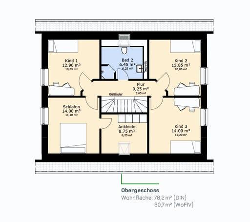 Hauscompagnie EFH 160 Floorplan 2