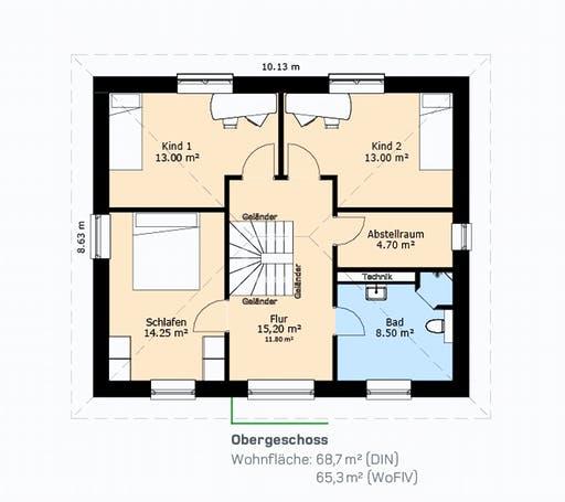 Hauscompagnie Stadtvilla 138 Floorplan 2