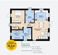 Zweifamilienhaus 160 SF Grundriss