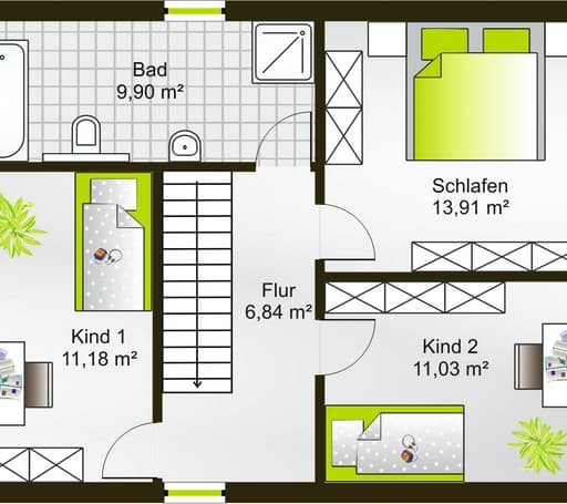 Hausidee 110 FD floor_plans 0