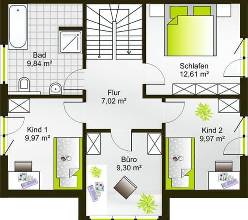 Hausidee 122 SD floor_plans 0
