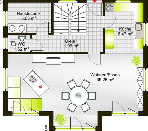 Hausidee 122 SD floor_plans 1