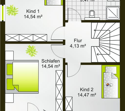 Hausidee 124 FD floor_plans 0