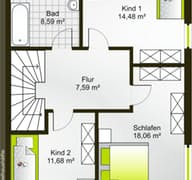 Hausidee 125 SD floor_plans 0