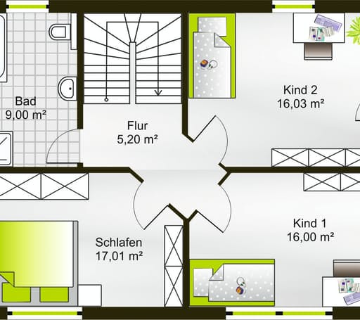 Hausidee 130 PD floor_plans 0